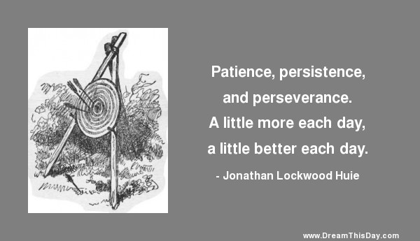 Daily Inspiration - Daily Quotes: Persevere